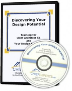 Chief Architect X1 Training DVD by CHiefExperts.com