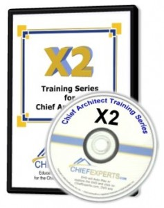 Chief Architect X2 Training DVD by ChiefExperts.com